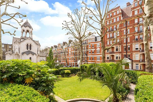 Offers in excess of £2,095,000, 2 Bedroom Flat For Sale in London, W8