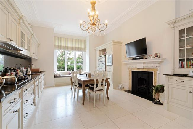 Asking Price £6,350,000, 6 Bedroom Terraced House For Sale in London, W8