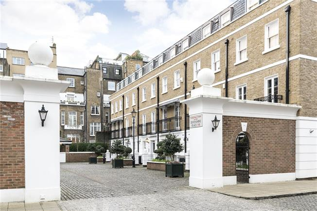 Asking Price £3,950,000, 4 Bedroom Terraced House For Sale in London, W8