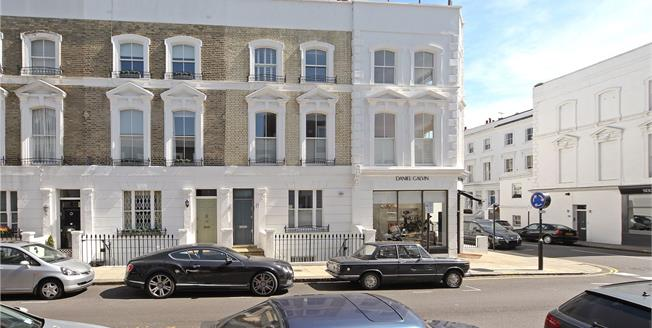 Asking Price £4,600,000, 4 Bedroom Terraced House For Sale in London, W8
