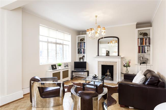 Asking Price £1,895,000, 3 Bedroom Flat For Sale in London, SW7