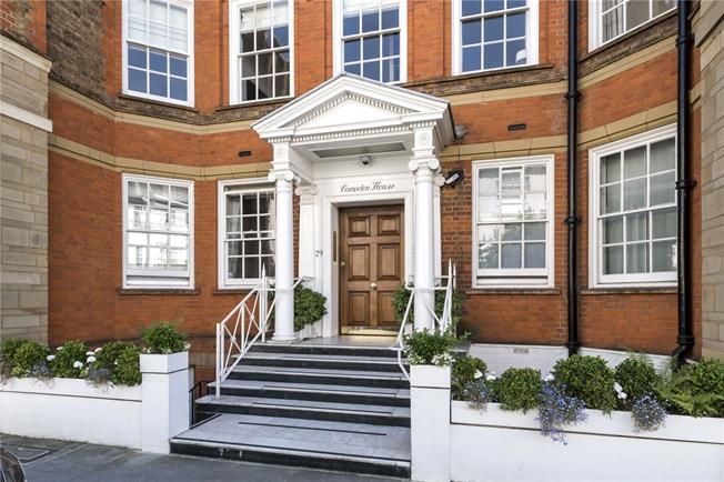 Asking Price £1,575,000, 2 Bedroom Flat For Sale in London, W8