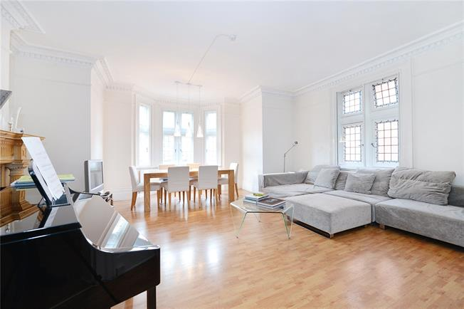 Asking Price £1,950,000, 2 Bedroom Flat For Sale in London, W8