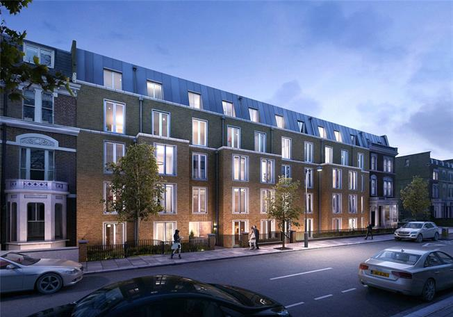 Asking Price £1,550,000, 2 Bedroom Flat For Sale in West Kensington, W14
