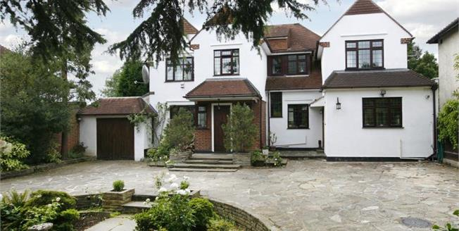 Asking Price £2,250,000, 6 Bedroom Detached House For Sale in Surbiton, KT6
