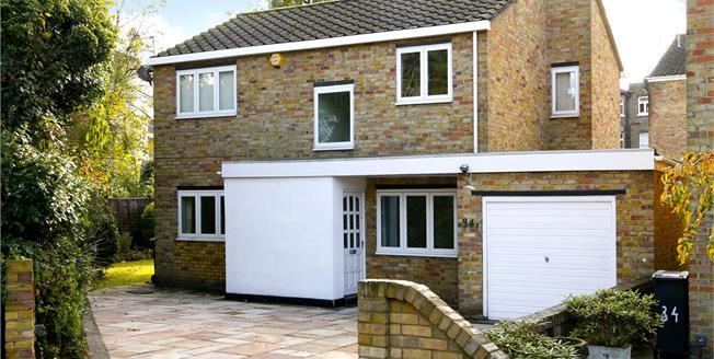 Asking Price £999,950, 3 Bedroom Detached House For Sale in Kingston upon Thames, KT1