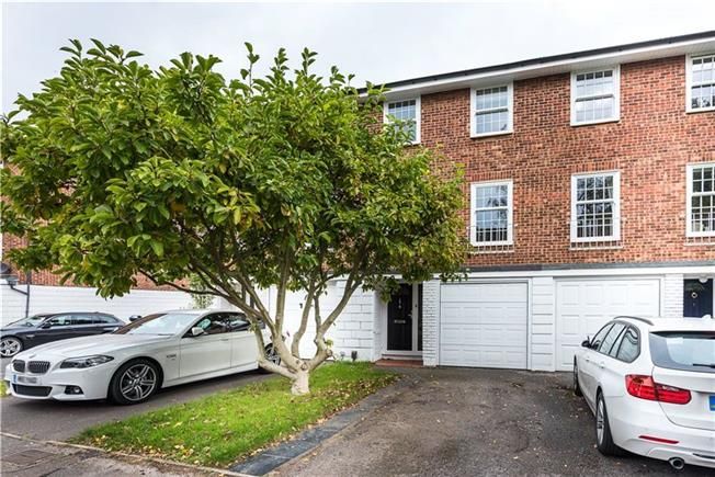 Asking Price £885,000, 4 Bedroom Terraced House For Sale in Kingston upon Thames, KT1