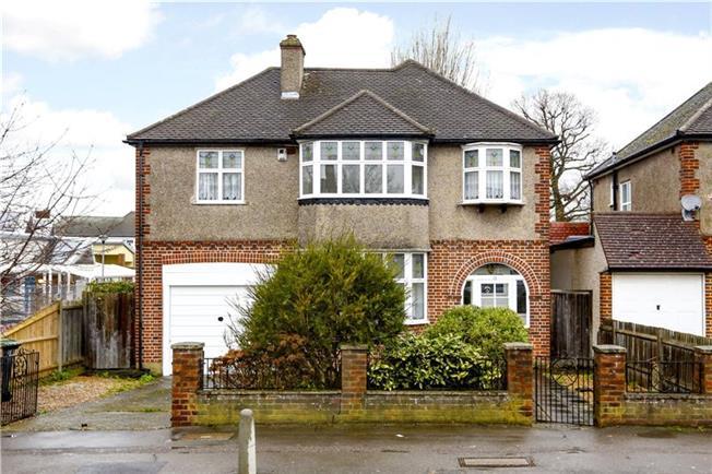 Asking Price £610,000, 4 Bedroom Detached House For Sale in New Malden, KT3