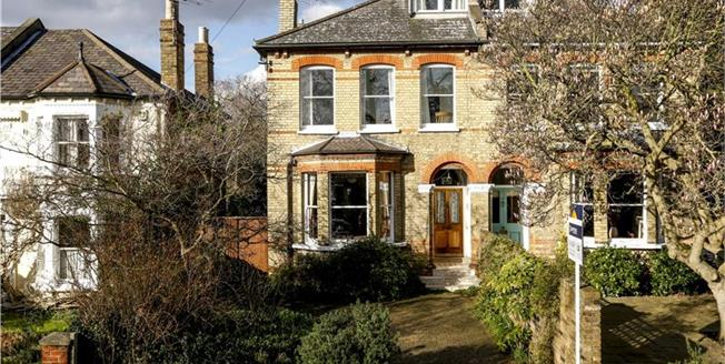 Asking Price £1,450,000, 5 Bedroom Semi Detached House For Sale in Kingston upon Thames, KT2