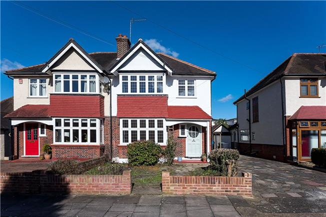 Asking Price £895,000, 4 Bedroom Semi Detached House For Sale in Kingston upon Thames, KT1