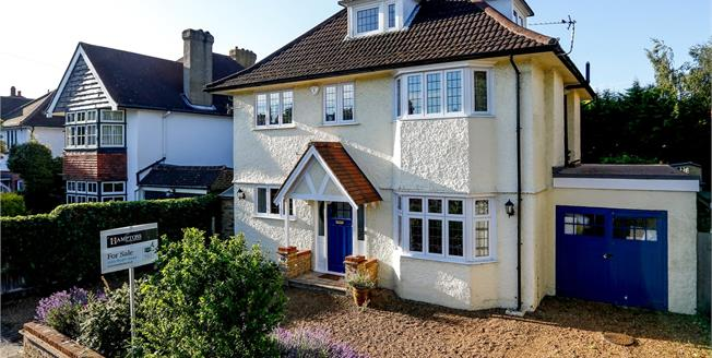 Asking Price £1,485,000, 5 Bedroom Detached House For Sale in New Malden, KT3
