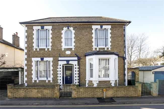 Asking Price £920,000, 4 Bedroom Detached House For Sale in Kingston upon Thames, KT1