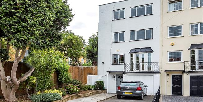 Guide Price £899,950, 4 Bedroom Terraced House For Sale in Kingston upon Thames, KT2