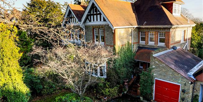 Asking Price £1,650,000, 5 Bedroom Semi Detached House For Sale in Surbiton, KT6