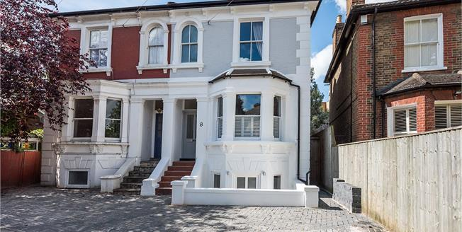 Asking Price £1,250,000, 5 Bedroom Semi Detached House For Sale in Kingston upon Thames, KT1