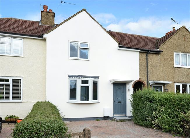 Guide Price £525,000, 2 Bedroom Terraced House For Sale in Long Ditton, KT6