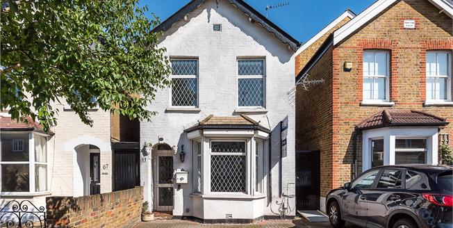 Guide Price £825,000, 3 Bedroom Detached House For Sale in Kingston upon Thames, KT2
