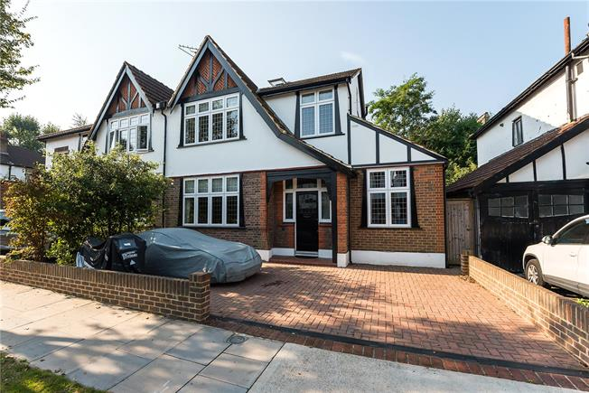Asking Price £1,175,000, 4 Bedroom Semi Detached House For Sale in Surbiton, KT6