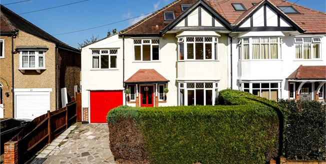Asking Price £855,000, 5 Bedroom Semi Detached House For Sale in Surbiton, KT5