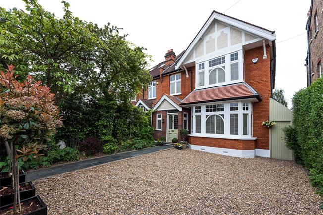 Asking Price £1,899,950, 5 Bedroom Semi Detached House For Sale in Kingston upon Thames, KT2