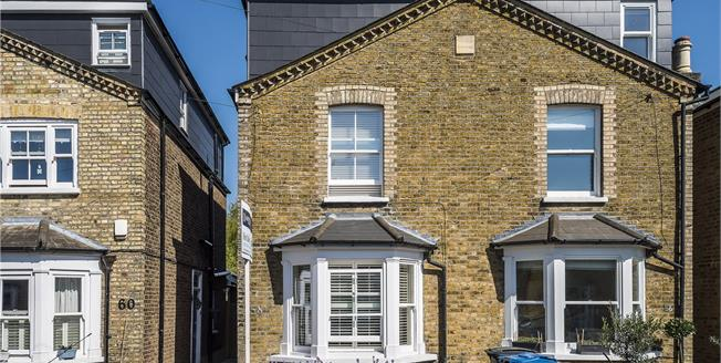 Asking Price £900,000, 4 Bedroom Semi Detached House For Sale in Kingston upon Thames, KT2