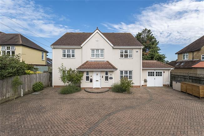 Asking Price £1,699,950, 4 Bedroom Detached House For Sale in New Malden, KT3