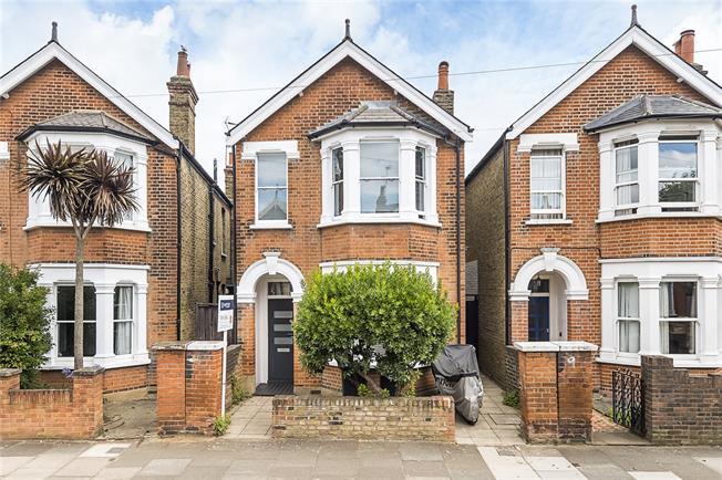 Asking Price £1,250,000, 5 Bedroom Detached House For Sale in Kingston upon Thames, KT2