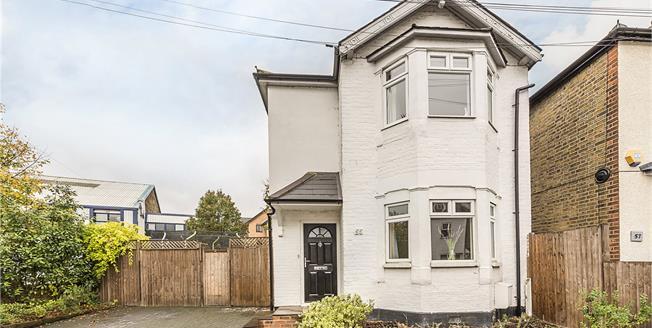 Asking Price £750,000, 3 Bedroom Detached House For Sale in Kingston upon Thames, KT1