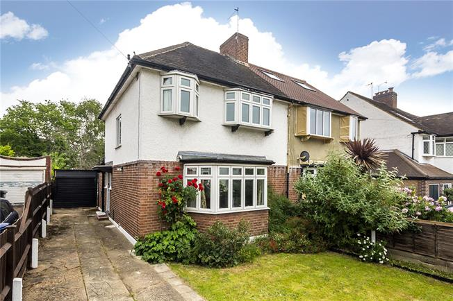 Asking Price £685,000, 3 Bedroom Semi Detached House For Sale in Kingston upon Thames, KT1
