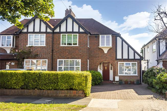 Asking Price £850,000, 4 Bedroom Semi Detached House For Sale in Kingston upon Thames, KT1
