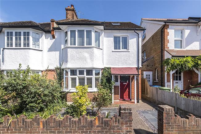 Asking Price £950,000, 5 Bedroom Semi Detached House For Sale in Kingston upon Thames, KT1