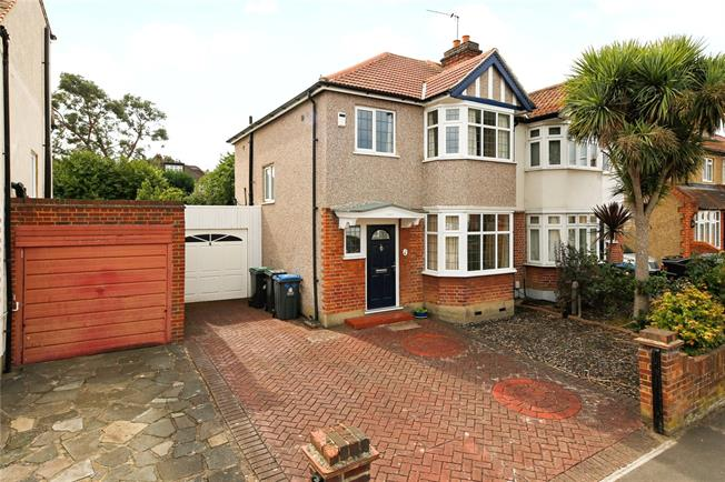 Asking Price £750,000, 3 Bedroom Semi Detached House For Sale in Kingston upon Thames, KT1