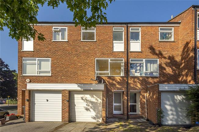 Asking Price £525,000, 3 Bedroom Terraced House For Sale in Kingston upon Thames, KT1