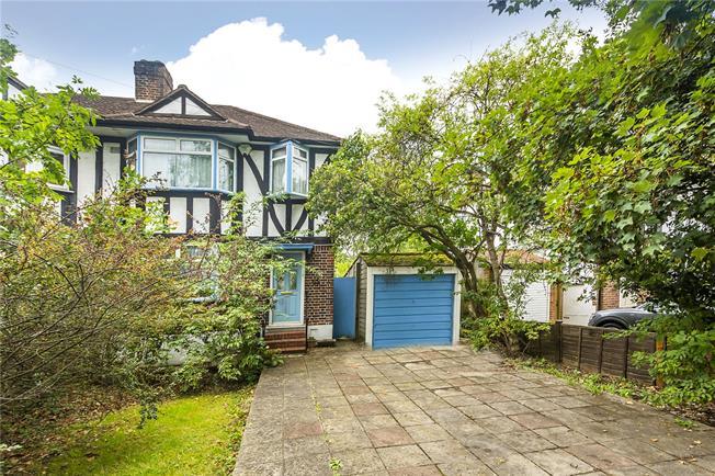 Asking Price £535,000, 3 Bedroom Semi Detached House For Sale in New Malden, KT3