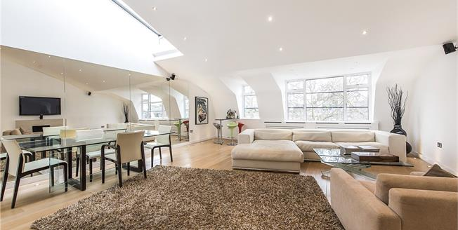 Asking Price £2,995,000, 3 Bedroom Flat For Sale in London, SW7