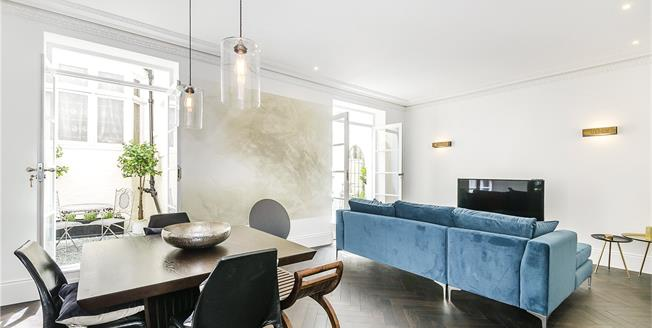 Asking Price £1,775,000, 2 Bedroom Flat For Sale in London, SW7