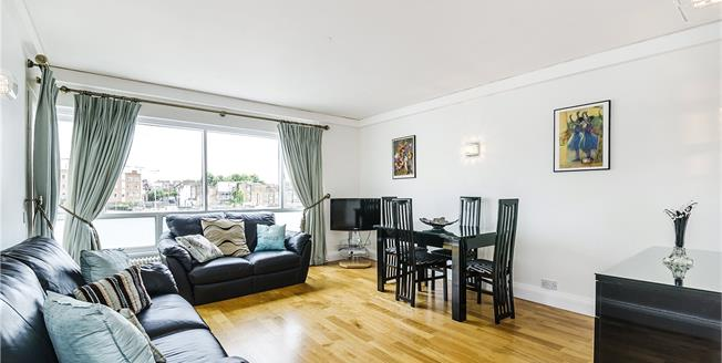 Asking Price £1,395,000, 2 Bedroom Flat For Sale in London, SW7