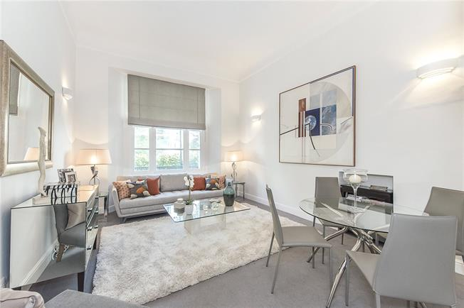 Asking Price £1,295,000, 1 Bedroom Flat For Sale in London, SW3