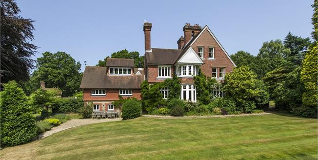 Guide Price £2,750,000, 6 Bedroom Detached House For Sale in Hampshire, GU26