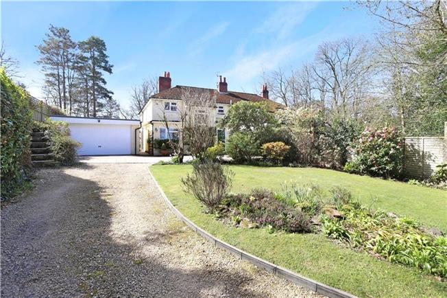 Guide Price £595,000, 3 Bedroom Semi Detached House For Sale in Headley, GU35