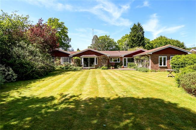 Guide Price £1,100,000, 4 Bedroom Bungalow For Sale in Hampshire, GU30