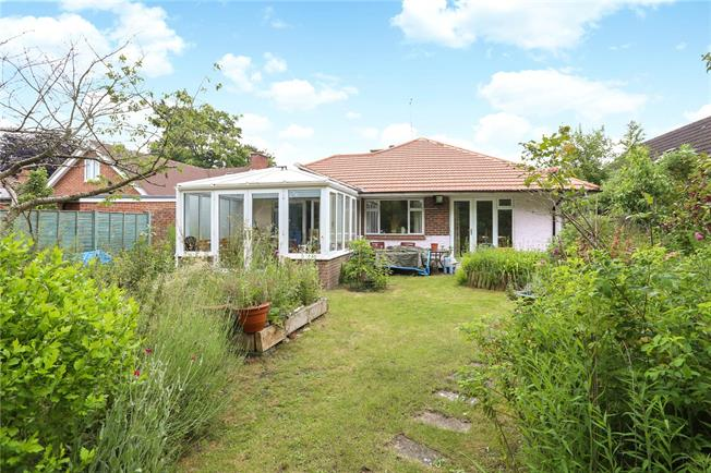 Guide Price £485,000, 3 Bedroom Bungalow For Sale in Whitehill, GU35