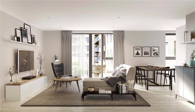 Asking Price £552,500, 2 Bedroom Flat For Sale in London, W13