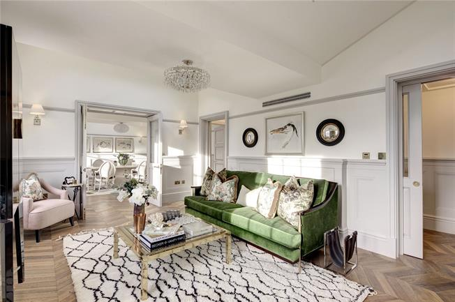Asking Price £4,950,000, 3 Bedroom Flat For Sale in London, W2