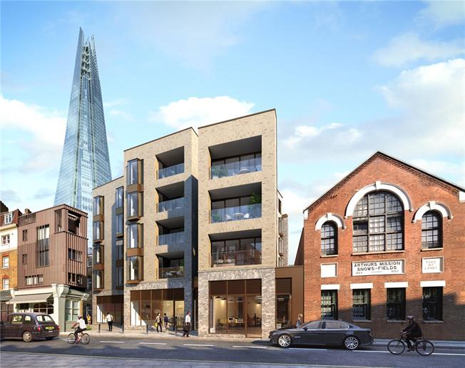 Asking Price £765,000, 1 Bedroom Flat For Sale in London, SE1