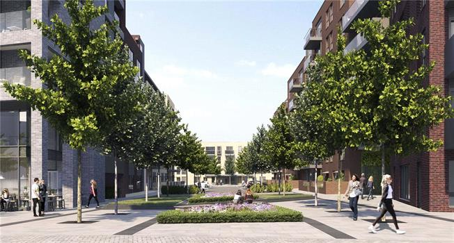 Asking Price £582,500, 2 Bedroom Flat For Sale in London, W13
