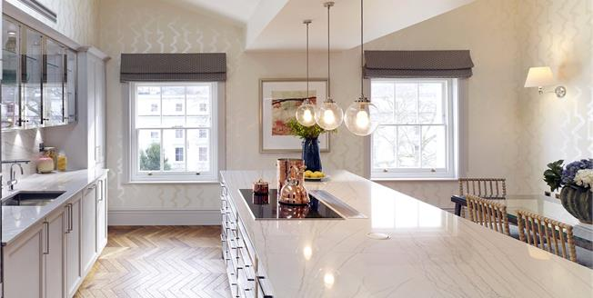 Asking Price £3,950,000, 3 Bedroom Flat For Sale in London, W2