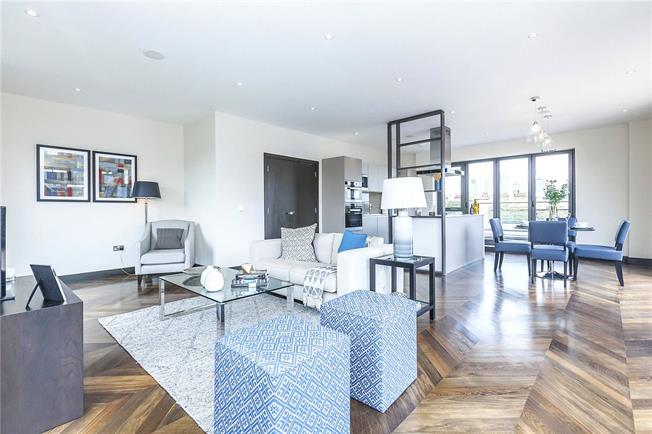 Asking Price £1,495,000, 3 Bedroom Flat For Sale in London, SE1