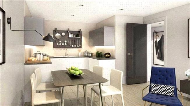 Guide Price £770,000, 2 Bedroom Flat For Sale in Wharf Road, London, N1