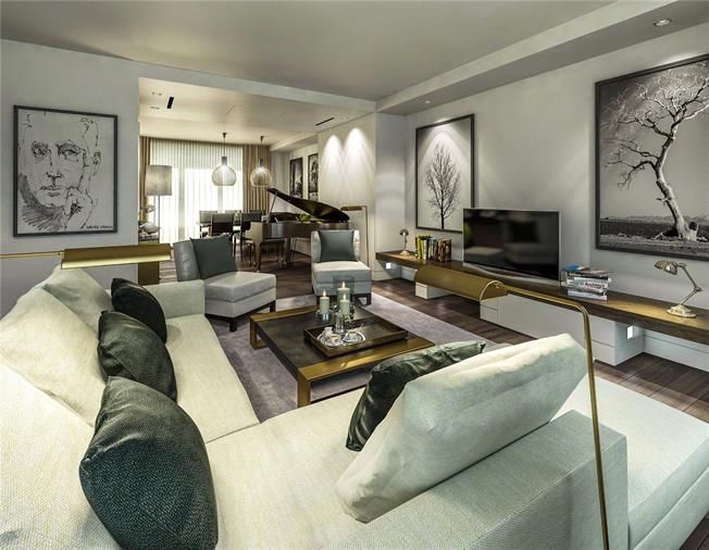 Asking Price £3,375,000, 2 Bedroom Flat For Sale in London, SW1E